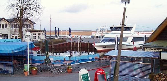 Der Hafen am Bodden
